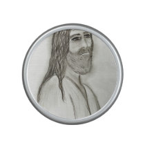 Jesus from the side bluetooth speaker