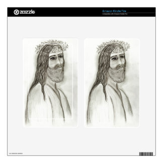 Jesus from the side skins for kindle fire