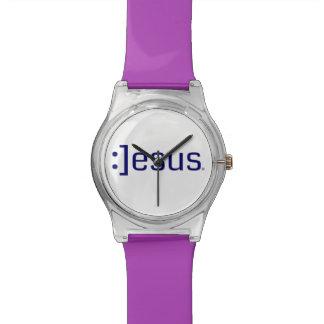 Jesus Geek Wrist Watch