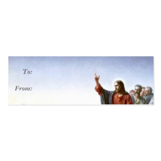 Jesus Gift Tag Business Card