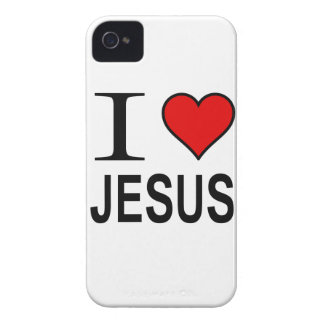 Jesus Gifts I Love Jesus iPhone 4 Covers