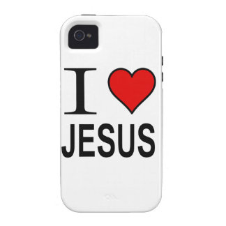 Jesus Gifts I Love Jesus Case For The iPhone 4