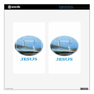 Jesus Gifts Kindle Fire Decal