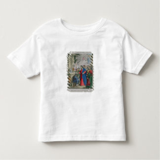 Jesus Gives Sight to One Born Blind, from a bible Toddler T-shirt