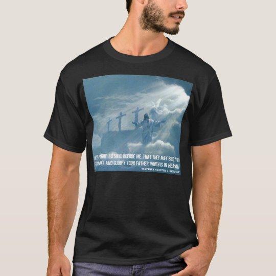 Jesús glorifica el cielo T/shirt Playera