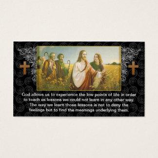 Jesus god religious business card design