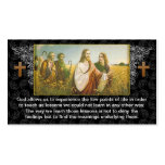 Jesus god religious business card design