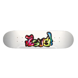 Jesus graffiti skateboard