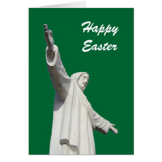 jesus green easter greeting card