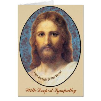 Jesus Greeting Card - Sympathy
