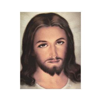 Jesús hace frente al retrato lona envuelta para galerías