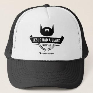 Jesus Had a Beard Trucker Hat