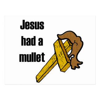 Jesus Had a Mullett Postcard
