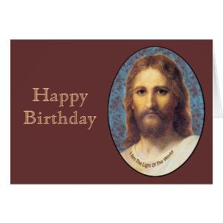Jesus Happy Birthday Card