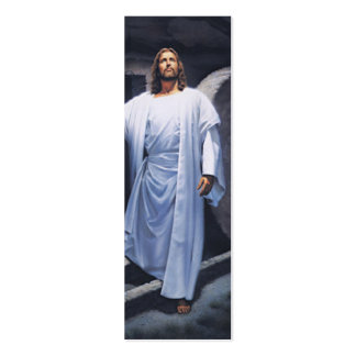 Jesus Has Risen- Book Mark-Quick Scriptures Double-Sided Mini Business Cards (Pack Of 20)