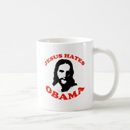 JESUS HATES OBAMA MUG