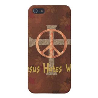 Jesus Hates War iPhone 5 Covers