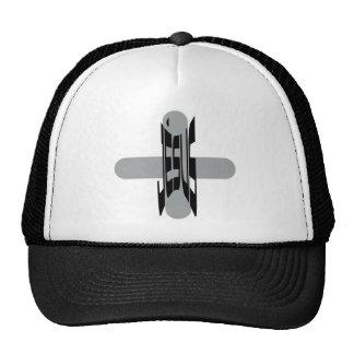 Jésus Haut sur croix grise Hats