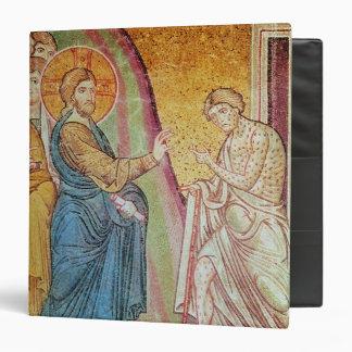 Jesus healing a leper binder