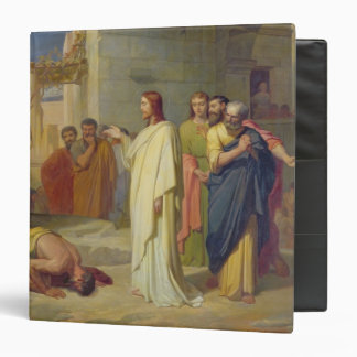 Jesus Healing the Leper, 1864 3 Ring Binder