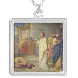 Jesus Healing the Leper, 1864 Necklaces