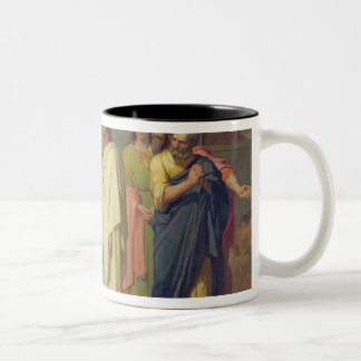 Jesus Healing the Leper, 1864 Two-Tone Coffee Mug