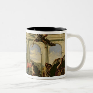 Jesus Healing the Paralytic at the Pool Two-Tone Coffee Mug
