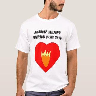 Jesus' Heart Burns For You T-Shirt