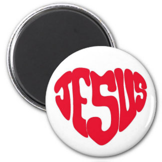 Jesus heart magnet