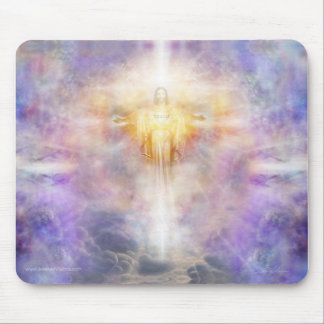 Jesus Heart Mouse Pad