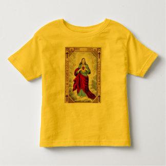 Jesus heart toddler shirt