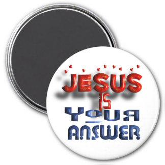 Jesus Highest Quality Magnets  (Large)