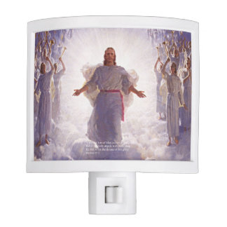 Jesus & his Angels 1 Night Light