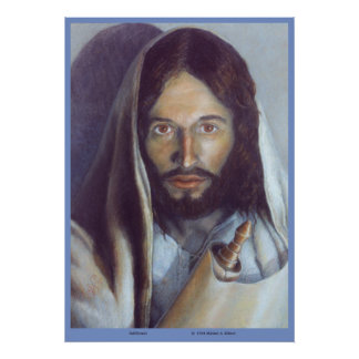 "Jesus holding the Torah - ""Fulfillment"" of the Law Poster"