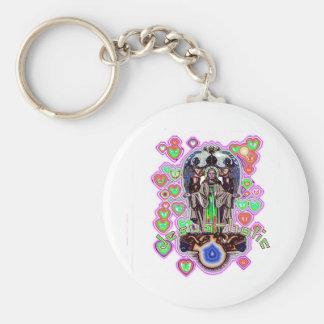 Jesus-holic Keychains