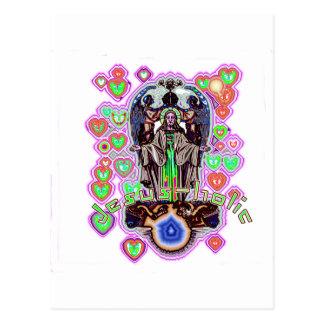 Jesus-holic Postcard