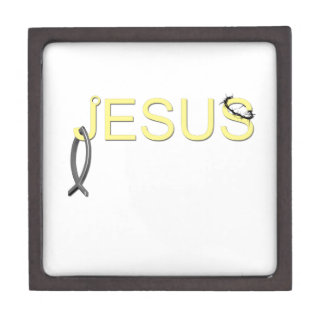 Jesus hook And Fish Jewelry Box