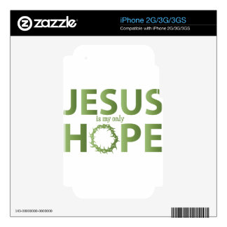 jesus hope green gradient2 skin for the iPhone 3