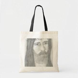 Jesús hosco bolsa tela barata