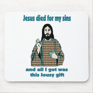 Jesus Humor Mouse Pad