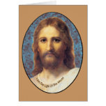 Jesus I am The Light of the World products Greeting Cards