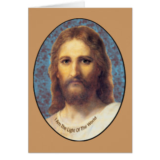 Jesus I am The Light of the World products Card