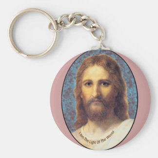 Jesus I am The Light of the World products Keychain