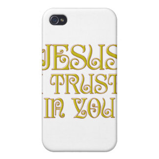 Jesus I Trust In You iPhone 4/4S Cases