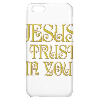 Jesus I Trust In You iPhone 5C Case