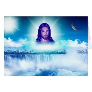 Jesus image card
