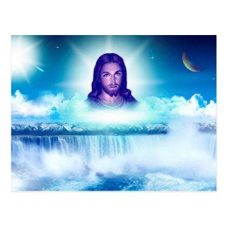 Jesus image postcard