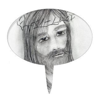 Jesus in Agony Cake Topper