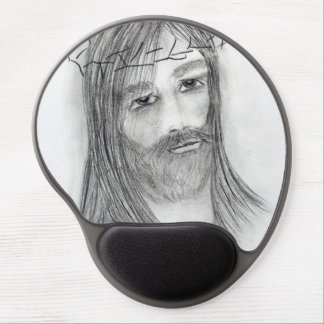 jesus in agony gel mouse pad