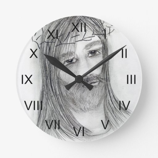 jesus in agony round clock